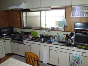 改修前:台所