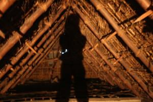 0 改修前の小屋裏