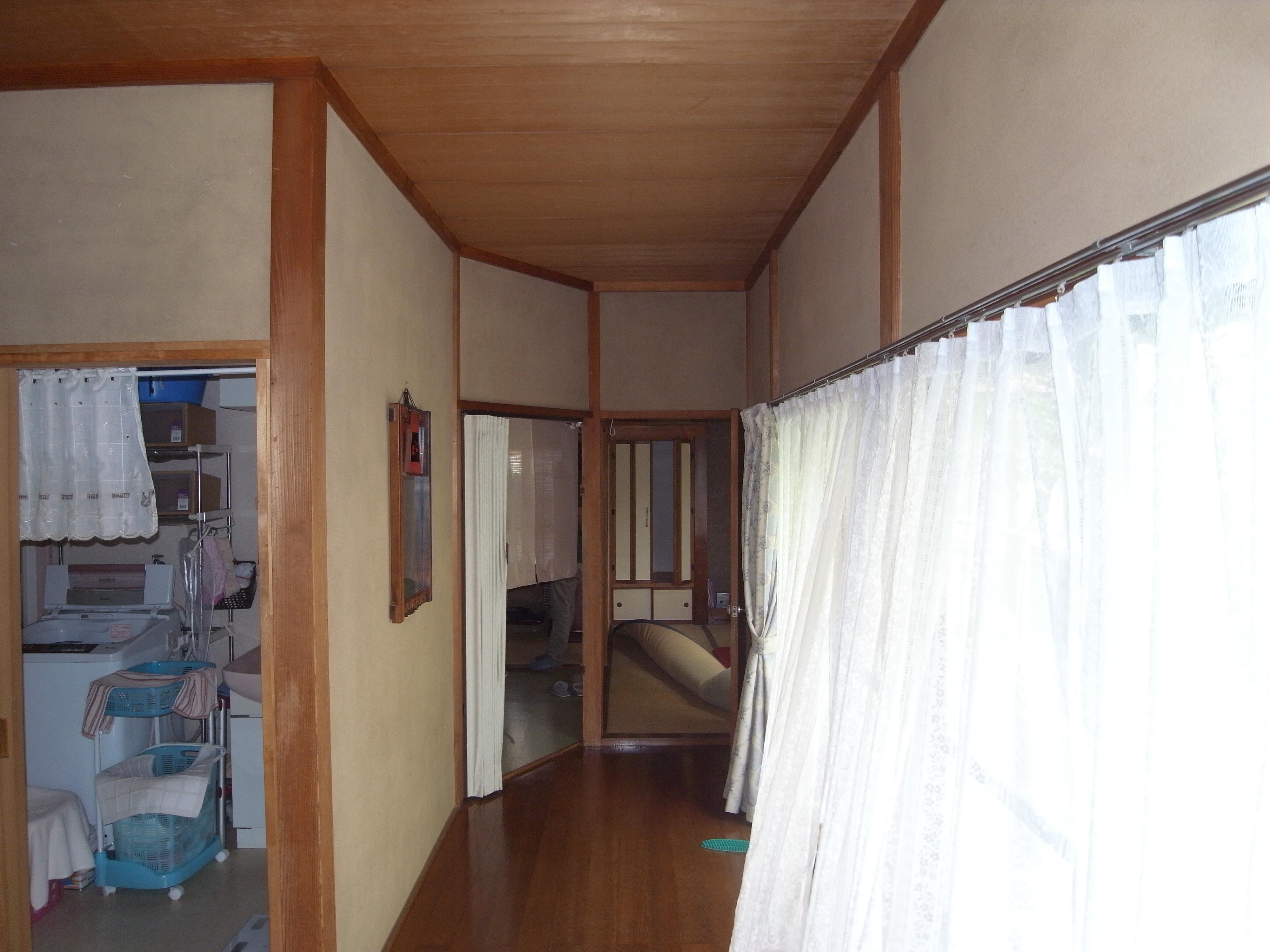 各室の入口は30~40㎜の段差あり