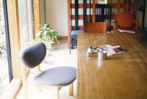 三澤邸にあるトヨさんの椅子